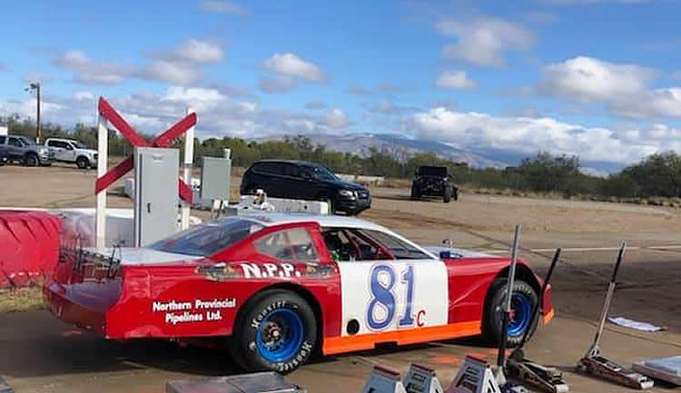 CARLSON FINISHED 9TH SATURDAY AND 6TH SUNDAY AT TUCSON SPEEDWAY