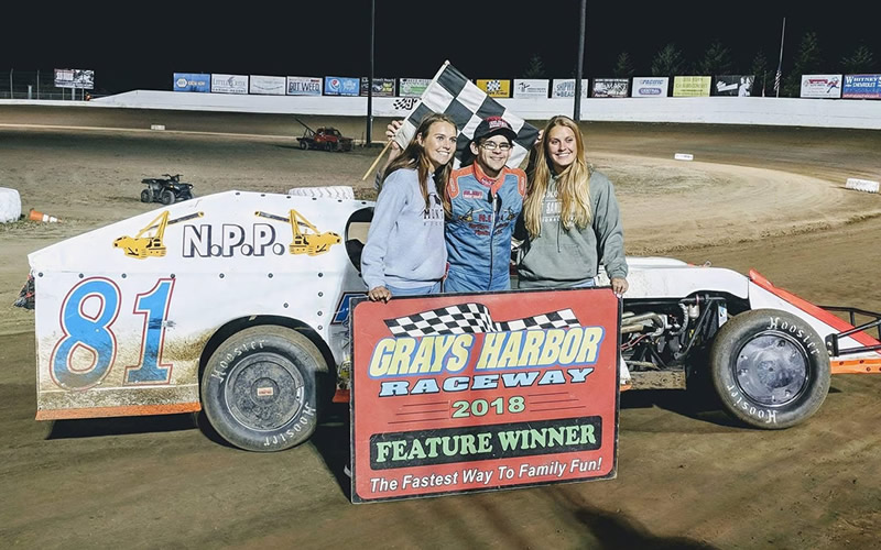 ZERBIN LOOKING FORWARD TO HIS NEXT FEATURE WIN IN HIS MODIFIED