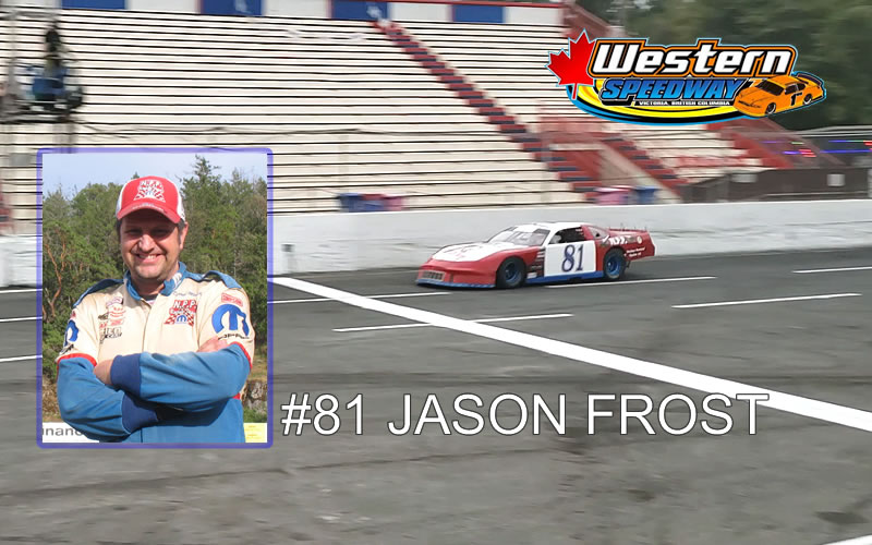 JASON FROST RAN ONE RACE IN 2020 - FINISHED 6TH